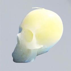 Figura candela per scopi magici - cranio candela natura