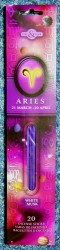 Zodiac Incense Sticks Aries - White Musk