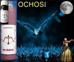 Voodoo Orisha Glaskerze Ochosi