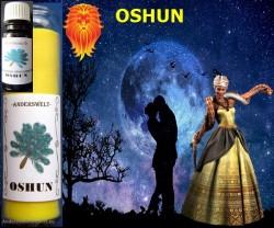 Voodoo Orisha Candele in vetro Oshun