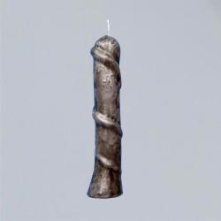 Figura candele per scopi magici - candela serpente nera