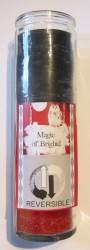 Magic of Brighid Bougie en verre Reversible