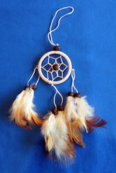 Dream Catcher with Hanger Blue