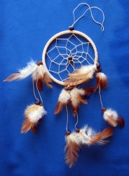 One Ring Dream Catcher 11,5 cm Natural (beige)
