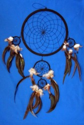 Five Ring Dream Catcher, Big Black