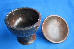 Pot ancestral avec couvercle 2ème choix