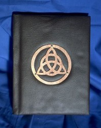 Book of Shadows, Synthetic Leather with Triquetta