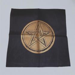 Tessuto d'altare con pentagramma oro