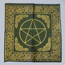 Nappe d´autel grand, avec celtic modèles et Pentagram