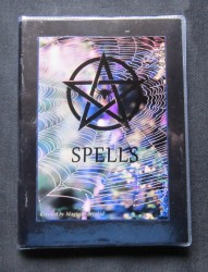 Spell Book Spider Web Din A 6