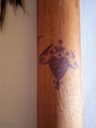 vaudou en bois avec Oshun Veves