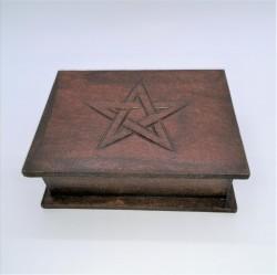 Scatola tarocchi con pentagramma