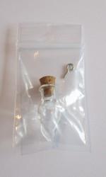 Elixir bouteille mini, avec du liège et oeillet