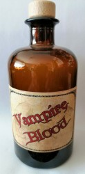 Alchemists Bottle Vampire Blood