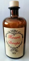 Alchimistes Bouteilles Heart Drops