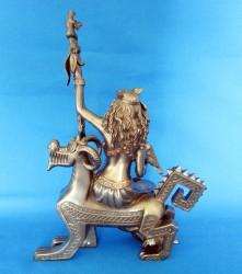 Frigg Frigga figure en polyrésine bronzée
