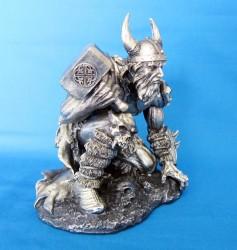 Thor / Donar Dio del tuono Figura di poliresina