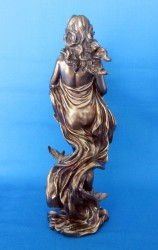 Goddess of Love Aphrodite, Freya, Venus, Oshun Figure made of polyresin bronzed