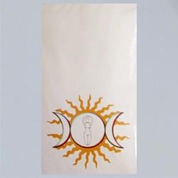 Altar-Faltkarte Gott und Göttin 5er Pack