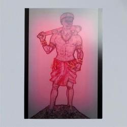 Voodoo Orisha Prayer Card Elegua
