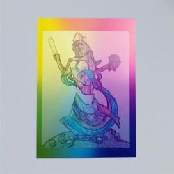Voodoo Orisha Prayer Card Oya