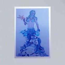 Voodoo Orisha Gebetskarte Yemaya