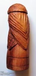 Frigga Figura di del legno