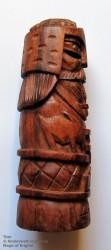 Thor Figura di del legno