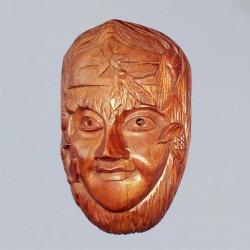 Relief de mur masque Geen Lady