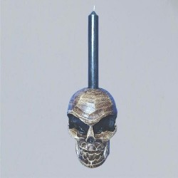 Scull Candle Holder