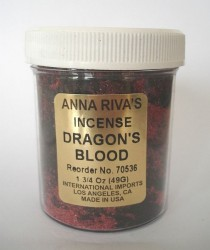Anna Riva encens Dragons Blood