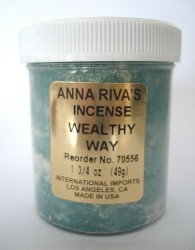 Anna Riva encens Wealthy Way