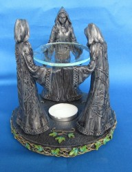 Oil Burner Witch Circle