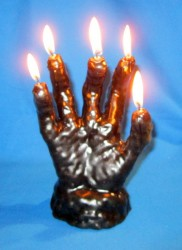 Figure Candles for Magickal Purposes - Hand of Glory