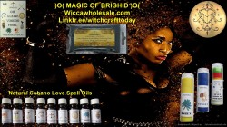 Magnetic Powder Black Santeria Voodoo Bag with 1000 g.
