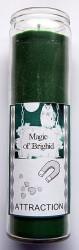 Magic of Brighid Bougie en verre Attraction