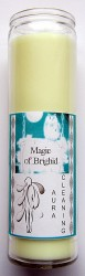 Magic of Brighid Candele in vetro Aura Cleaning