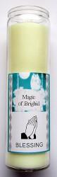 Magic of Brighid Glaskerze Blessing