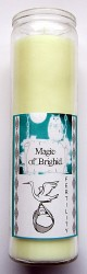 Magic of Brighid Glass Candle Fertility