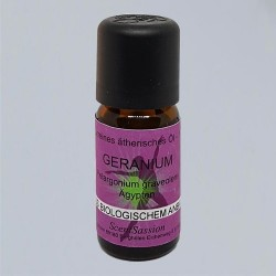 Essential Oil Geranium Bio (Pelargolium graveolens) 10 ml