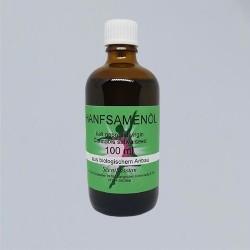 Hemp seed oil organic (Cannabis sativa) 100 ml