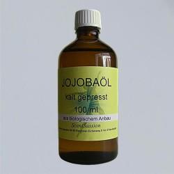 Organic jojoba oil (Simondsia chinensis) 100 ml