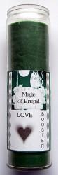 Magic of Brighid Bougie en verre Love Booster