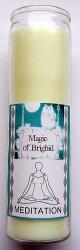 Magic of Brighid Glaskerze Meditation