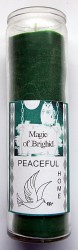 Magic of Brighid Bougie en verre Peaceful Home