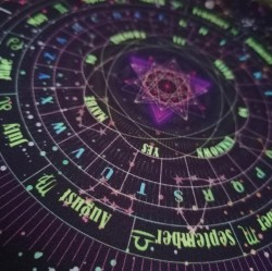 Pendulum cloth / pad astrology