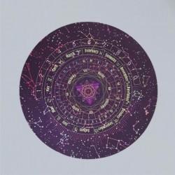 Panno per pendolo / tappetino per astrologia