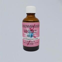 Acqua di rose bio 50 ml idrolato puro di Rosa damascena