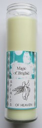 Magic of Brighid Bougie en verre Spirits of Heaven