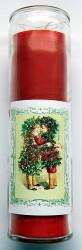 Julfest Jahreskreis Kerze im Glas